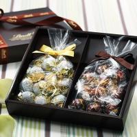 【公式】スイスのプレミアムチョコレートブランド、リンツのギフトボックス2個入り。父の日やきちんとした...
