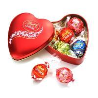 【公式】スイスのチョコレートブランド、リンツの人気のリンドールのアソート缶。ちょっとしたギフトにおす...