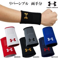アンダーアーマー 野球 リバーシブルリストバンド 2個入り UA Baseball Reversible Wristband 20SS-1354264