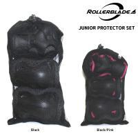 【保護パット/インラインスケート】 ジュニア用サイズ、ひじ・ひざ・手首の3点セットです。 インライン...