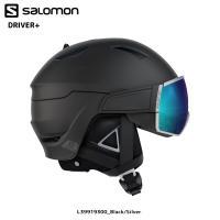 【17-18モデル/送料無料/限定商品】 サロモンの新しいバイザーヘルメット。 簡単なレンズ交換シス...