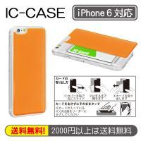 iPhone 6(4.7インチ)対応ICカードケース(バックプレート) ■ケースやカバーが嫌いな人に...