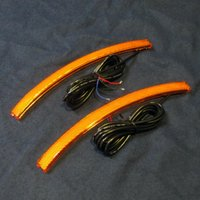 BRP Can−Am SPYDER Fフェンダー LEDサイドマーカー(イエロー)SHOW CHROME製 lirica-store 03