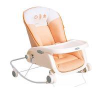 やさしく押すとゆりかごのように赤ちゃんに心地よい揺れをもたらす省スペース設計の手動タイプのローラック...