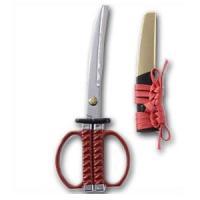 織田信長をイメージした日本刀はさみです。要ネジ部には家紋の織田木瓜が施されております。手になじんで握...