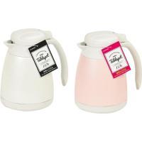 熱いお湯も、冷たいお茶もどちらも保温・保冷できるテーブルポット。使いやすい1Lタイプ。 製造国:中国...