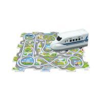 パズルパネルでコースを自由に組んで、新幹線を走らせるパネルワールド。軽快な動きに子供たちも夢中♪走ら...