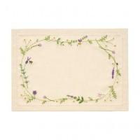 庭に咲く愛らしい花々を、ひと針ひと針ステッチで表現しました。フランスししゅうの基本的なステッチを使っ...