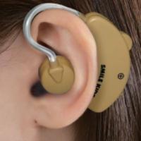 聞き取りにくい音をキャッチ。耳かけ式なので、落ちにくく、取れにくい!!装着して、スイッチを入れるだけ...