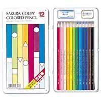【商品名】サクラ クーピー色鉛筆スタンダード 12色 1セット(12本)