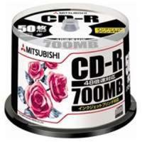 【商品名】三菱化学メディア CD-R <700MB> SR80PP50 50枚