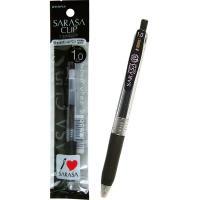 【商品名】ゼブラサラサクリップジェルボールペン1.0極太(黒) 【10個セット】 31-794