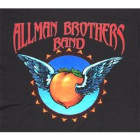 Tシャツ/オールマン/ALLMAN BROTHERS BAND/FLYING PEACH/ロック/バンド