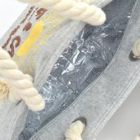 ランチトートバック 保温保冷 NH スウェットトートバッグ SURF&CAMP ランチバッグ ( トートバッグ 弁当グッズ ランチグッズ )