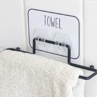 タオル掛け タオルリング タオルバー タオルハンガー オテル 壁 粘着 貼ってはがせる フック 粘着フック ( 洗面 キッチン 収納 )
