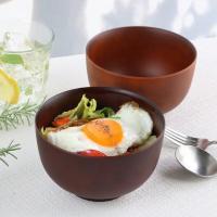 どんぶり 700ml SEE 鉢 プラスチック 食器 日本製 おしゃれ ( 電子レンジ対応 食洗機対応 木製風 丼 木目調 )