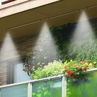 ●水を霧状に放出して周囲をクールダウン! ●ポンプや電力は一切不要のエコアイテムです。 ●マンション...
