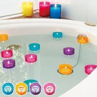 ●バスあかりは、お風呂に浮かべてお楽しみいただくタイプのキャンドルです。 ●照明を落として、ゆらゆら...