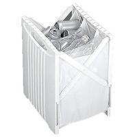 ゴミを分別して資源としてリサイクル簡単分別スーパーバッグホルダーです。 <折りたたみ機能> 最大幅3...