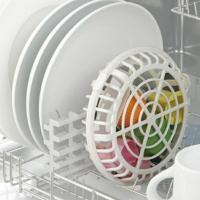 ●食洗機の水圧で飛ばされやすい小物が入れられるバスケット ●水圧でひっくり返ったり隙間に落ちないので...
