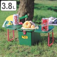 ●クーラーボックスが便利なテーブルになります。 ●脚をテーブルの裏にコンパクトに収納できます。 ●3...