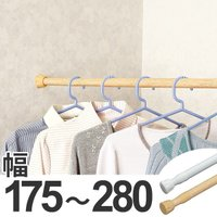 ネジ、くぎを使わずにかんたん取り付け。【商品詳細】 サイズ/約幅175〜280×奥行3.8×高さ3....