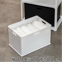 ●カラーボックスにちょうどいいサイズの収納ボックスです。 ●同商品やシリーズ品で組み合わせたり、積み...
