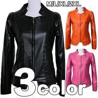 商品コード:mpy-6 素材:PU革 カラー:写真通り ブラック、オレンジ、ピンク サイズ: M肩幅...