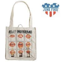 ジャンクフード JUNK FOOD キャンバス トートバッグ エコバッグ Velvet Underground|ll-factory