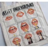 ジャンクフード JUNK FOOD キャンバス トートバッグ エコバッグ Velvet Underground|ll-factory|02