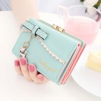 【送料無料】ピンク他全5色 レディース財布 財布 レディース 婦人財布 女性へのプレゼントに最適 ウォレット