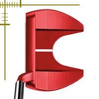 ●303ステンレススチールボディのハイパフォーマンスパター。視認性を高める「オリジナルレッド」カラー...