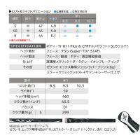 先行予約 ダンロップ ゼクシオ エックス ドライバー MIYAZAKI AX-1カーボン 19年モデル lockon 04
