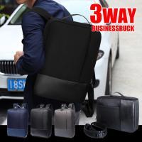 手提げ、リュック、ショルダーバッグの3WAYビジネスバッグです。 大容量で2−3日出張にも対応可能で...