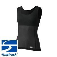 ファイントラック(finetrack) W's スキンメッシュ® ブラタンクトップ(カップ付) (レディース/アンダーウェア タンクトップ)|lodge-premiumshop