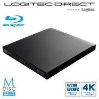 USB3.0ポータブル9.5mmBD編集再生書込ソフト付き ▼4Kビデオ再生、AVCHD/AVCRE...