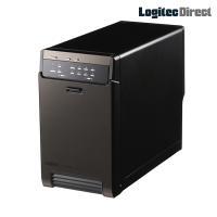 2BAY「LHR-2BRHEU3」では、3.5インチSATA(6Gbps)対応の高速ハードディスクを...