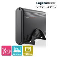 HDDケース 外付け USB3.1(Gen1) / USB3.0 ハードディスクケース 3.5インチ ハードディスク ケース LHR-EKWU3BK