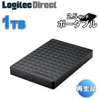 外付けHDD テレビ 1TB Expansion ポータブルハードディスク ブラック シーゲート 再生品 SGP-NZ010UBK-YY