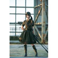 Military Lolita OP ドレス【裁判官の誓い】予約締切7/25【完成納期11月予定】
