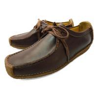 クラークス ナタリーのレディースモデルです。良質な本革の質感、色合いと快適な履き心地を実感するカジュ...