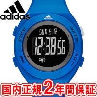 アディダス 腕時計 SPRUNG basic スプルング ベーシック 44mm メンズ ブルー/ブラ...