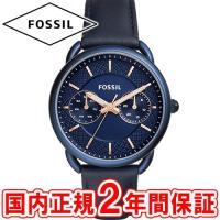 フォッシル レディース腕時計 テイラー 35mm ブルー/ゴールド/ブルレザー FOSSIL TAI...