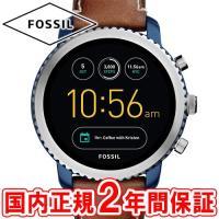 スマートウォッチ フォッシル 腕時計 Qエクスプローリスト タッチスクリーン ジェネレーション3 日...
