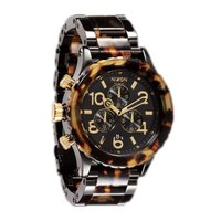 NIXON  THE42-20 CHRONO  NA037679-00  ALL BLACK&TPR...