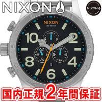 NIXON ニクソン THE51-30 CHRONO クロノグラフ メンズ腕時計 ブラック/マルチ ...