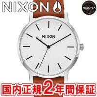NIXON ニクソン THE PORTER LEATHER ポーターレザー メンズ腕時計 ホワイトサ...