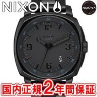 NIXON ニクソン THE CHARGER チャージャー メンズ腕時計 オールブラック NA107...