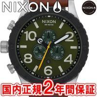NIXON ニクソン THE51-30 CHRONO LEATHER クロノグラフ メンズ腕時計 サ...