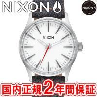 NIXON ニクソン THE SENTRY 38 LEATHER セントリー38 レザー メンズ腕時...